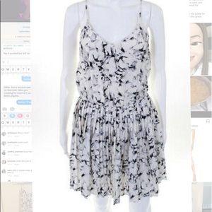 Madison Marcus Pleated Dress w/ gathered waist